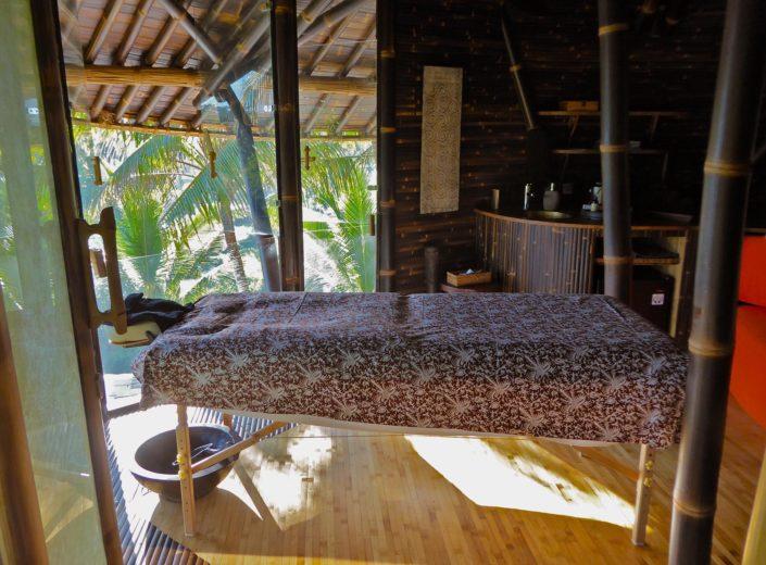Ananda Spa massage table