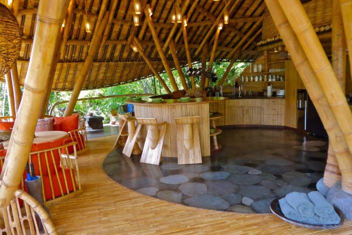 Bali Living Pavilion kitchen