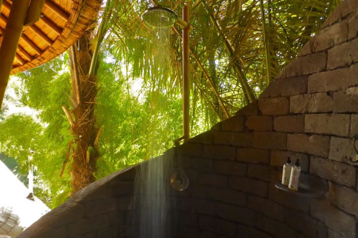 Lemongrass shower
